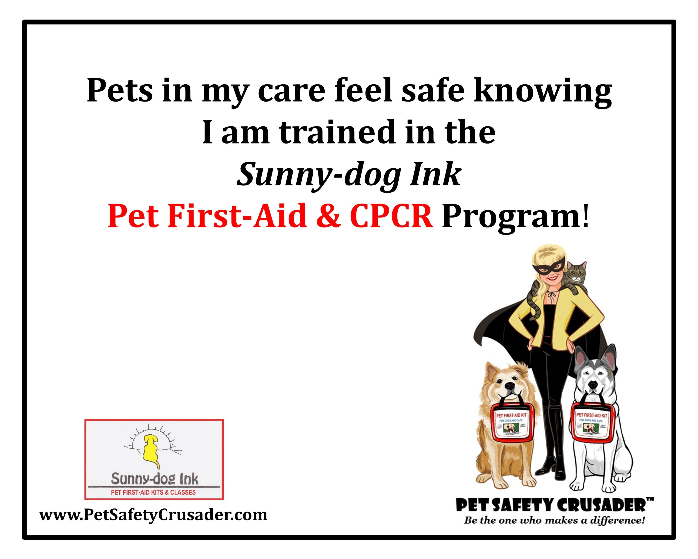 Pet CPR, pet, pets, pet sitter, dog walker